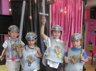 Knights & Princesses Parties