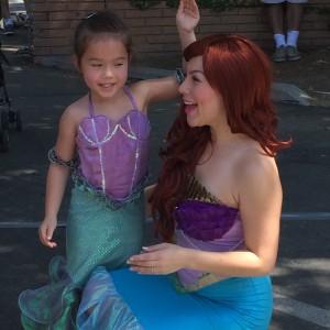 Little Ariel Meets Big Ariel