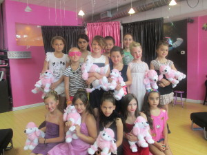 Pink Poodle Stuffing Party